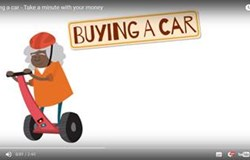 MoneySmart- Take a minute with your money - Buying a car.