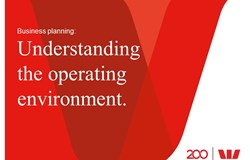 Business planning - Understanding the operating environment